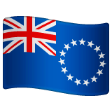 Flag: Cook Islands Emoji on WhatsApp