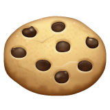 Cookie Emoji on WhatsApp