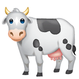 Cow Emoji on WhatsApp