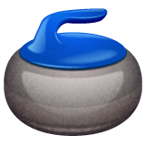 Pierre de curling Émoji WhatsApp