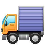 Delivery Truck Emoji on WhatsApp
