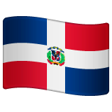 Flag: Dominican Republic Emoji on WhatsApp