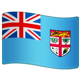 Flag: Fiji Emoji on WhatsApp