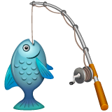 Fishing Pole Emoji on WhatsApp
