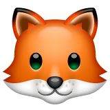 Fox Emoji on WhatsApp