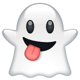 Ghost Emoji on WhatsApp