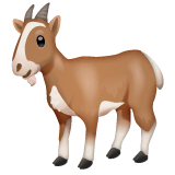 Goat Emoji on WhatsApp