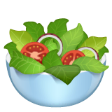Green Salad Emoji on WhatsApp