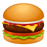 Hamburger Emoji WhatsApp