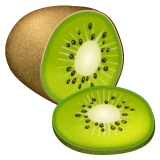 Kiwi Fruit Emoji on WhatsApp