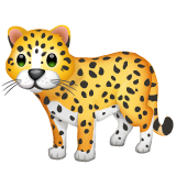 Leopardo Emoji WhatsApp