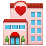 Love Hotel Emoji on WhatsApp