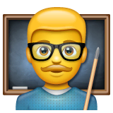 Professore Emoji WhatsApp