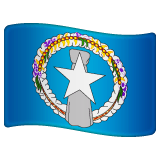 Flag: Northern Mariana Islands Emoji on WhatsApp
