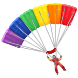 Parachute Emoji on WhatsApp