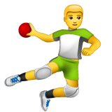 Person Playing Handball Emoji on WhatsApp