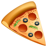 Pizza Emoji WhatsApp