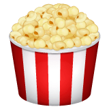 Popcorn Emoji on WhatsApp