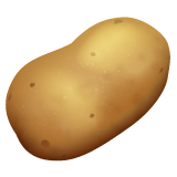 Potato Emoji on WhatsApp