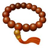 Prayer Beads Emoji on WhatsApp