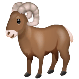 Ram Emoji on WhatsApp