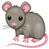 Rat Emoji on WhatsApp