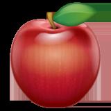 Red Apple Emoji on WhatsApp