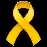 Solidaritätsschleife Emoji WhatsApp