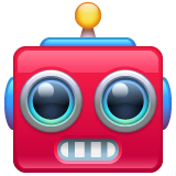 Robot Emoji on WhatsApp