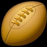 Palla da rugby Emoji WhatsApp