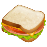 Sandwich Emoji WhatsApp