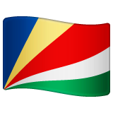 Flag: Seychelles Emoji on WhatsApp