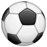 Ballon de foot Émoji WhatsApp