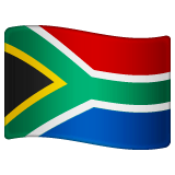 Flag: South Africa Emoji on WhatsApp