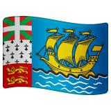 Flag: St. Pierre & Miquelon Emoji on WhatsApp
