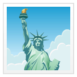 Statue of Liberty Emoji on WhatsApp