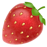 Fragola Emoji WhatsApp