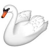 Swan Emoji on WhatsApp