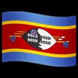 Флаг Свазиленда Эмодзи в WhatsApp