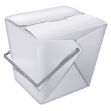 Takeout Box Emoji on WhatsApp