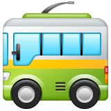 Trolleybus Emoji WhatsApp