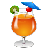 Bebida tropical Emoji WhatsApp
