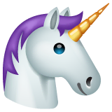 Unicorn Emoji on WhatsApp