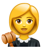 Richterin Emoji WhatsApp