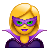Supervillana Emoji WhatsApp
